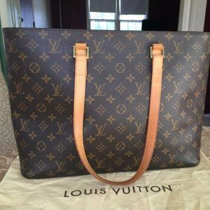 Louis Vuitton Tote Bag Luco M51155 Browns Monogram